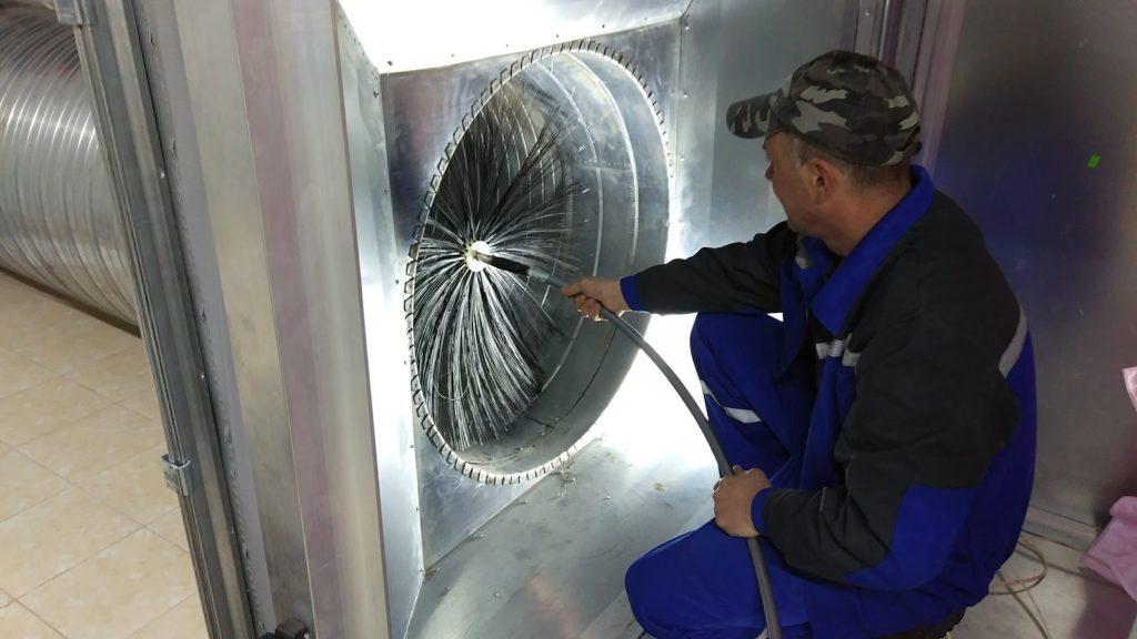 Обслуживание и чистка систем вентиляции