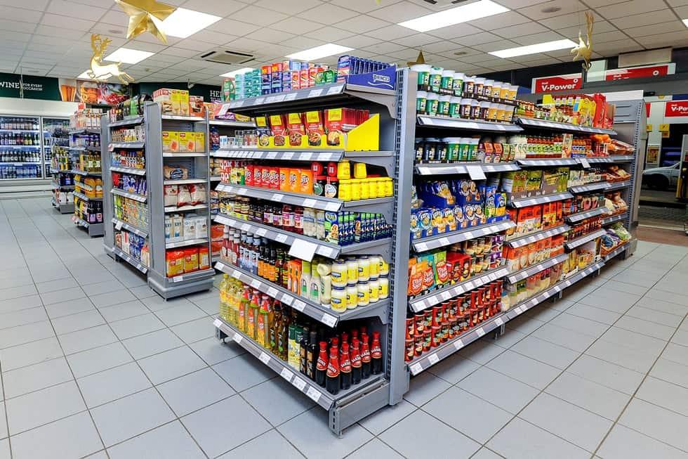 установка систем вентиляции в супермаркете